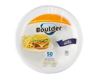 Boulder 50ct Foam Plates