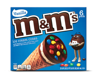 M&M Ice Cream Cones