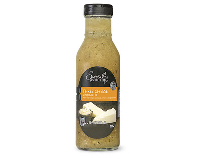 Specially Selected Gourmet Three Cheese Vinaigrette Dressing