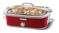 Ambiano 3.5-Quart Casserole Slow Cooker