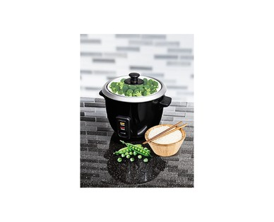 Ambiano 6-Cup Rice Cooker & Steamer View 4