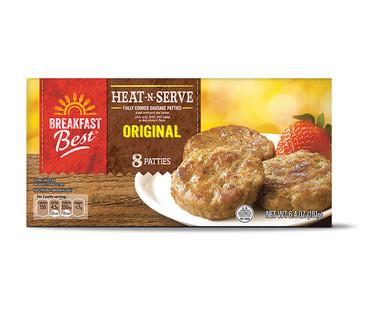 Breakfast Best Heat 'N Serve Sausage Patties