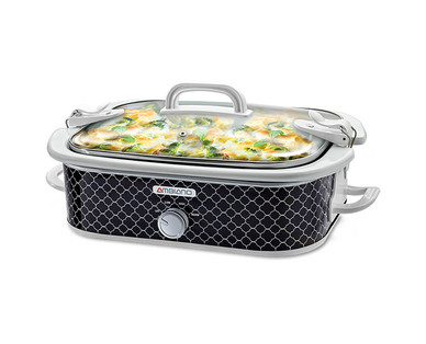 Ambiano 3.5-Quart Casserole Slow Cooker View 1