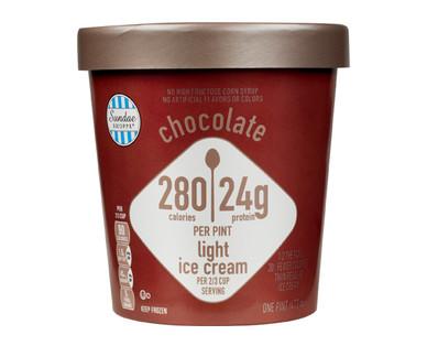 Sundae Shoppe Chocolate High Protein Ice Cream