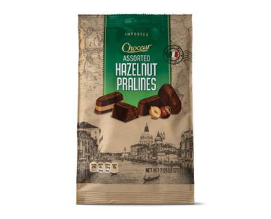 Choceur Pralines Dark Chocolate or Hazelnut