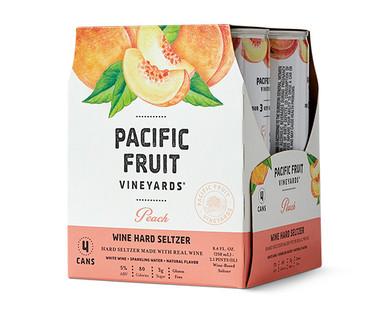 Burlwood Cellars Peach Nectarine Wine Hard Seltzer