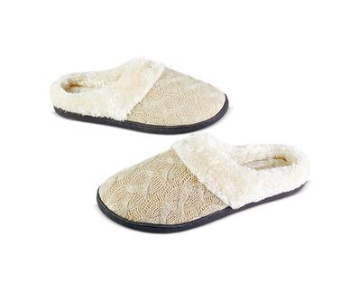 Serra Ladies' Memory Foam Slippers View 2