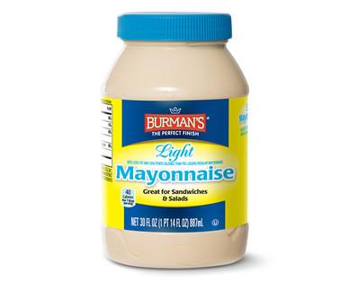 Burman's Light Mayonnaise