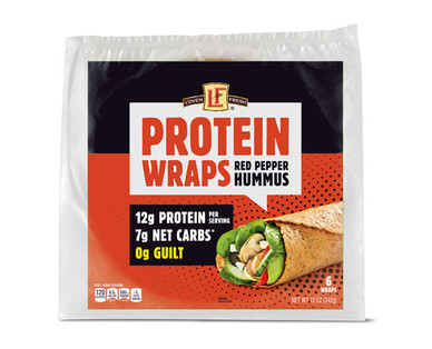 L'oven Fresh Protein Wraps Red Pepper Hummus