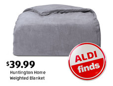 ALDI Find: Huntington Home Weighted Blanket. $39.99. View details.