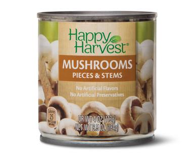 Happy Harvest Mushrooms Stems & Pieces