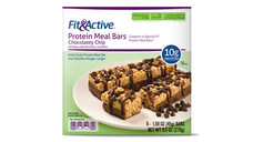 Fit and Active Chocolatey Chip Protein Meal Bars
