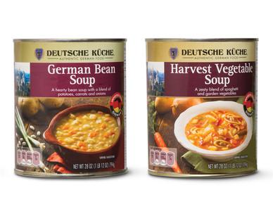 Deutsche Küche German Soup Assorted Varieties