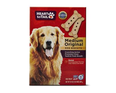 Heart to Tail Medium Original Dog Biscuit