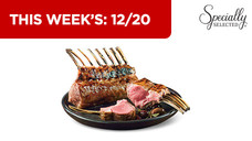 Specially Selected Fresh Rack of Lamb