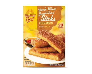 Breakfast Best Cinnamon Whole Wheat French Toast Sticks