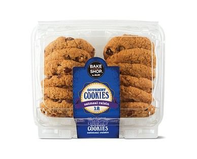Bake Shop by Aldi Chocolate Chip or Oatmeal Raisin Cookies View 2
