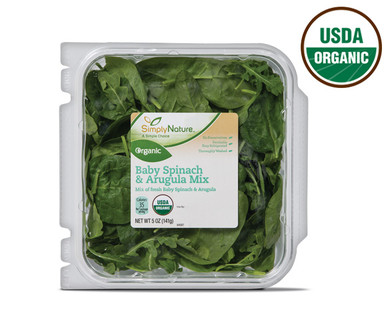 Simply Nature Organic Arugula & Spinach Mix