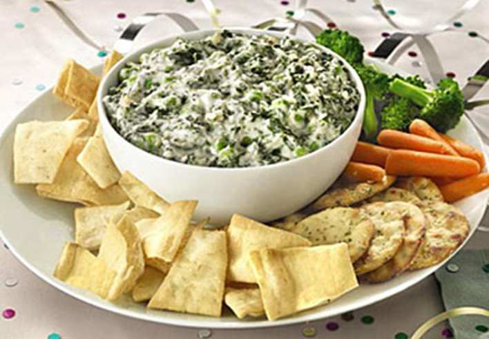 Low-Fat Spinach Dip