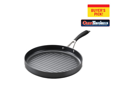 """Crofton Chef's Collection 12"""" Hard Anodized Fry Pan or Round Grill Pan View 4"""