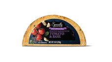 Specially Selected Roasted Garlic With Tomato and Basil Handcrafted Cheese. View Details.