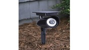 Gardenline Solar Spotlight with Color Lock