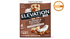 Elevation by Millville Almond Coconut Fruit and Nut Bars. View Details.