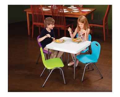 Easy Home Folding Utility Table View 2