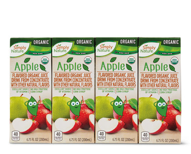 Simply Nature Apple Organic Juice Boxes