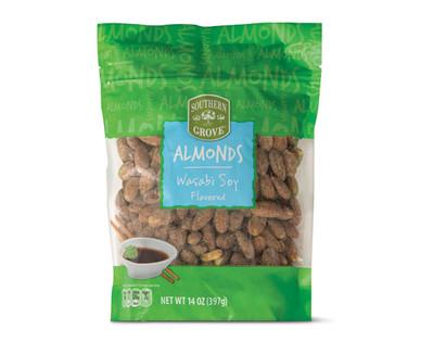 Southern Grove Wasabi Soy Flavored Almonds