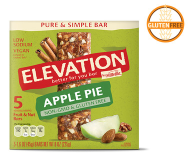 Elevation Apple Pie Pure and Simple Bars