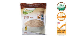 Simply Nature Organic Quick Cook Brown Rice. View Details.