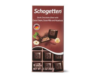 Schogetten Dark Hazelnut Cocoa Chocolate
