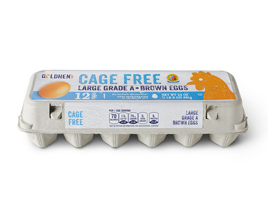 Goldhen Cage Free Large Eggs Grade A