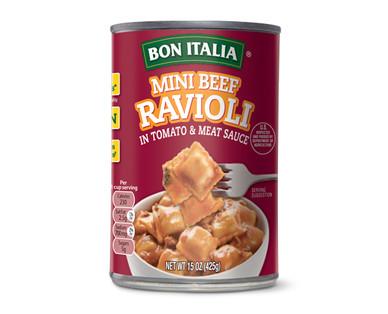 Bon Italia Mini Beef Ravioli
