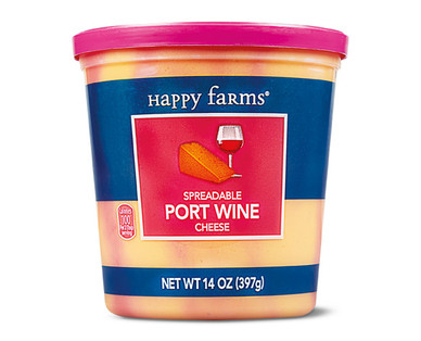 Happy Farms Port Wine Cheese Cup