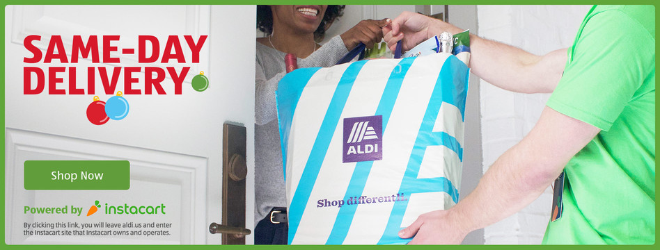Same-day grocery delivery. Powered by Instacart. Shop now.