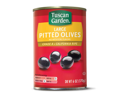 Tuscan Garden Large Pitted Ripe Olives