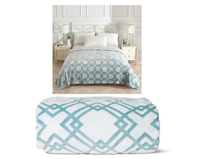 Huntington Home Luxury Full/Queen or King Sculpted Blanket