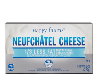 Happy Farms Neufchatel Cheese