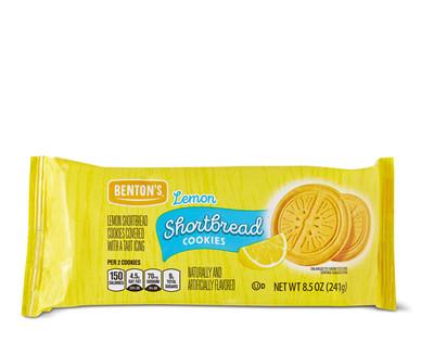 Benton's Lemon Shortbread Cookies