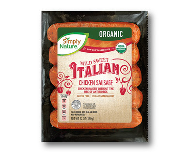 Simply Nature Organic Italian Chicken Sausage