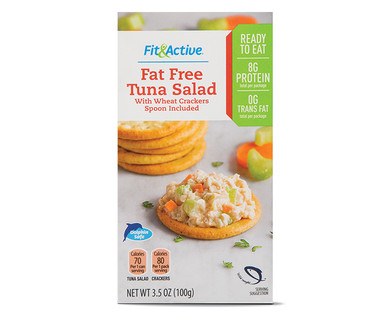 Fit and Active Ready to Eat Fat Free Tuna Salad Kit