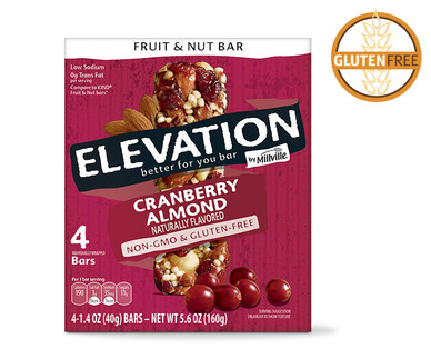 Elevation Cranberry Almond Fruit and Nut Bars