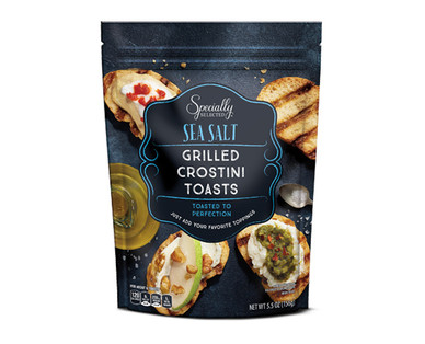 Specially Selected Sea Salt Grilled Crostini Toasts