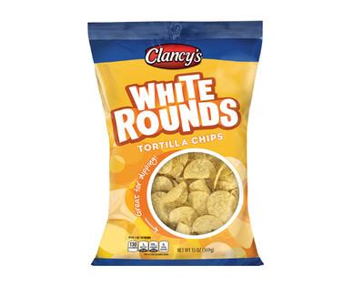 Clancy's White Round Tortilla Chips