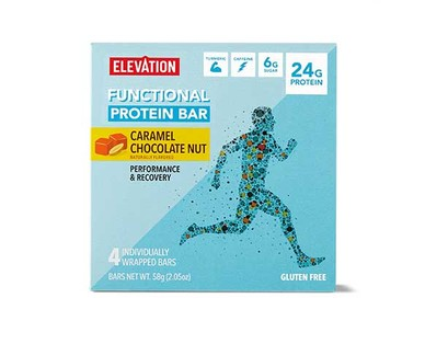 Elevation Functional Protein Bars - Caramel Chocolate Nut