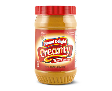 Peanut Delight Creamy Peanut Butter 40 oz.