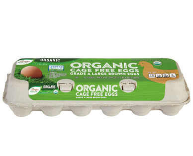 Simply Nature Organic Cage Free Brown Eggs