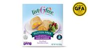 liveGfree Gluten Free Ham & Cheese Stuffed Sandwiches